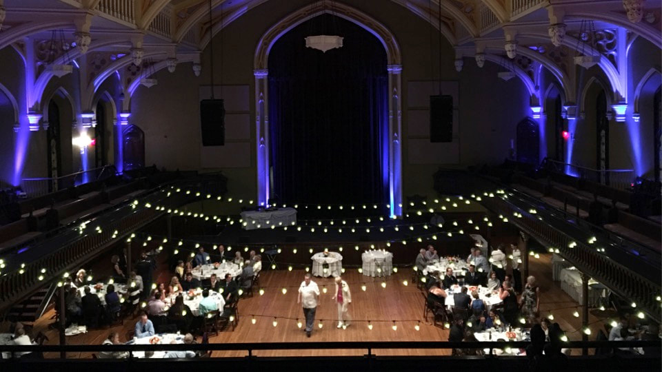 Asbury Hall wedding and event venue Buffalo NY
