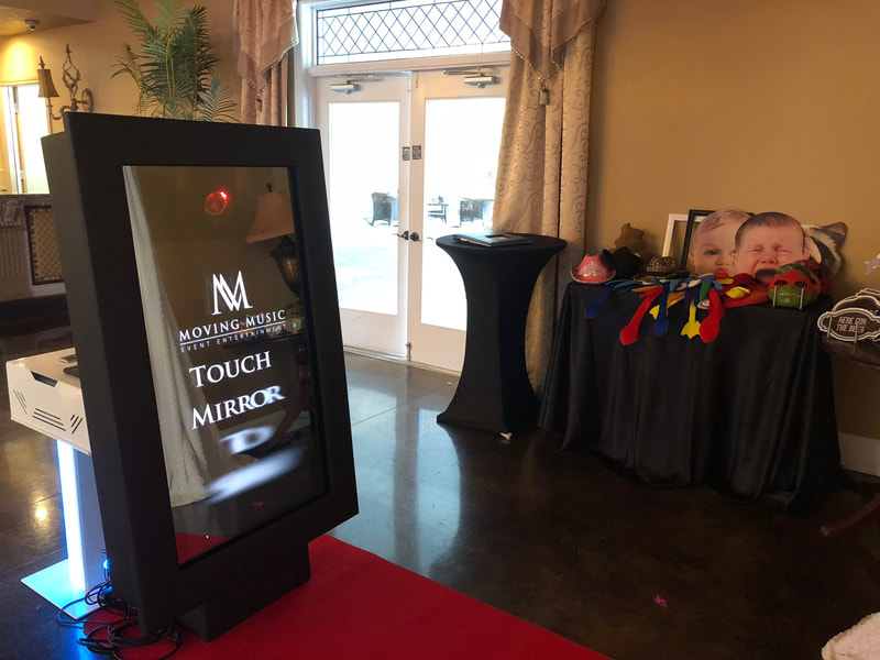 mirror photo booth for parties