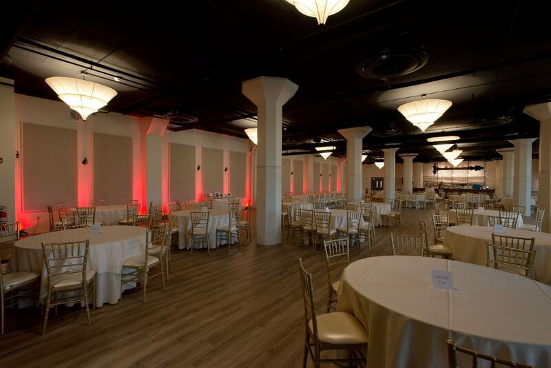 red event lighting
