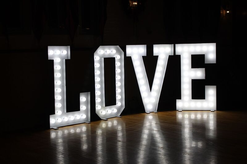 love letters decor